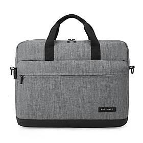 """Сумка для ноутбука 15.6"""" Bagsmart Серый (FBBM0140009A008BS)"""