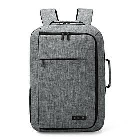 "Рюкзак для ноутбука 15.6"" Bagsmart Pomona Серый (FBBM0140007A008BS)"