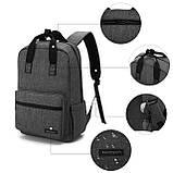 Рюкзак для ноутбука Bagsmart Altadena Черный (FB0140004A001BS), фото 4