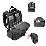 Рюкзак для ноутбука Bagsmart Altadena Черный (FB0140004A001BS), фото 5
