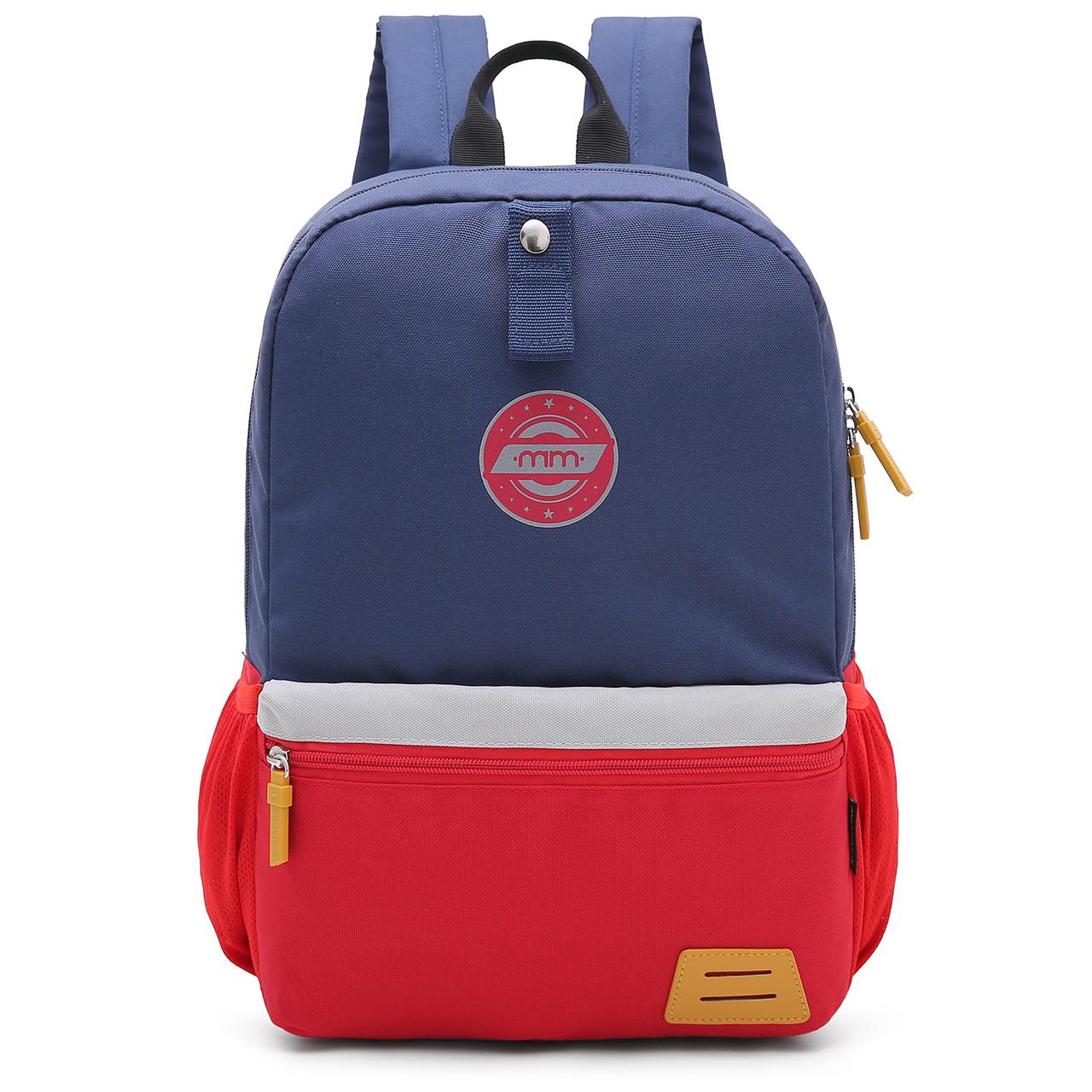 Детский рюкзак Mommore Синий с красным (FB0240008A005MM)