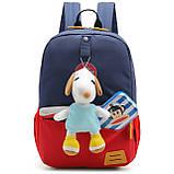 Детский рюкзак Mommore Синий с красным (FB0240008A005MM), фото 5