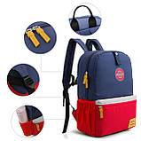 Детский рюкзак Mommore Синий с красным (FB0240008A005MM), фото 6