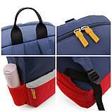 Детский рюкзак Mommore Синий с красным (FB0240008A005MM), фото 7