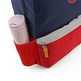 Детский рюкзак Mommore Синий с красным (FB0240008A005MM), фото 9