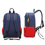 Детский рюкзак Mommore Синий с красным (FB0240008A005MM), фото 10