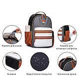 Рюкзак для мамы Mommore Коричневый (FBMM3101305A003MM), фото 4