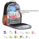 Рюкзак для мамы Mommore Коричневый (FBMM3101305A003MM), фото 6