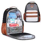 Рюкзак для мамы Mommore Коричневый (FBMM3101305A003MM), фото 7