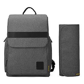 Многофункциональный рюкзак для мамы Mommore Серый (FB0090209A008MM)
