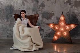 Одеяло из овечьей шерсти мериноса Woolmark 140х100 см HILZER Merino Шерсть/Шерсть