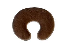 Подушка Валик-Рогалик из шерсти верблюда Woolmark HILZER Camel Шерсть/Шерсть 25х35 см