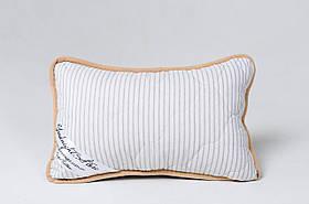 Подушка из шерсти мериносов Goodnight Store в полоску размер 40х60 см серая