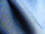 Льняное постельное бельё Евро 220х240 см CottonTwill Темно-синий, фото 2