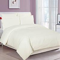 Постельное белье Односпальный 145х215 см Страйп-сатин 2 CottonTwill Белый