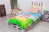 Детское покрывало CottonTwill Сказочная поляна 145x205 см + наволочка 50x70 см, фото 2