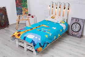 Детское покрывало CottonTwill Доброе утро 145x205 см + наволочка 50x70 см