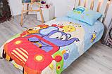 Детское покрывало CottonTwill Викэнд 145x205 см + наволочка 50x70 см, фото 3