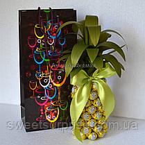 """Вкусный подарок """"Конфетный ананас"""", фото 2"""