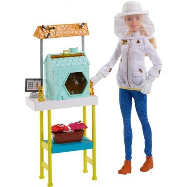 Barbie Барби пчеловод Beekeeper Playset