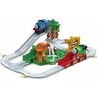 Thomas and Friends железная дорога Томас Большой погрузчик T14000 Big Loader Sodor Island Delivery Toy Set