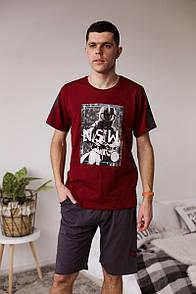 """Классный мужской комплект футболка и капри """"Алан"""""""