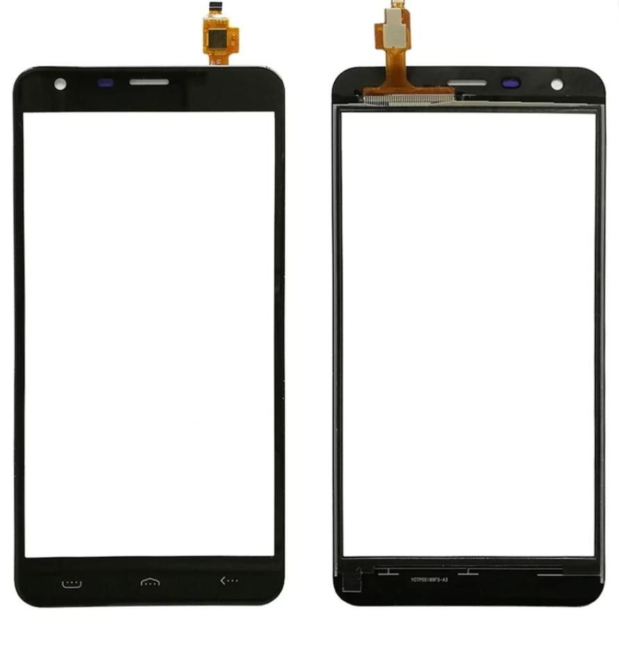 Touchscreen (сенсор) для Homtom HT30 Pro Чорний