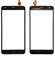 Touchscreen (сенсор) для Homtom HT30 Pro Чорний, фото 1