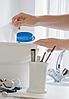 Ведро-диспенсер для дезинфицирующих салфеток TEMDEX 5.7 Для бумажных полотенец, салфеток, Синий, фото 3
