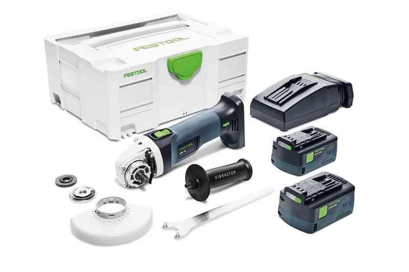 Аккумуляторная углошлифовальная машинка AGC 18-125 Li 5,2 EB-Plus