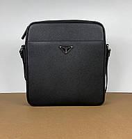 Мужская кожаная сумка Prada (Прада) арт. 13-02