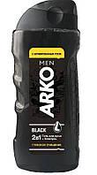Arko Men гель для душа и шампунь 2в1 Black 260 мл