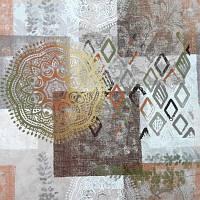 Мебельная ткань принт Непал  (Турция)