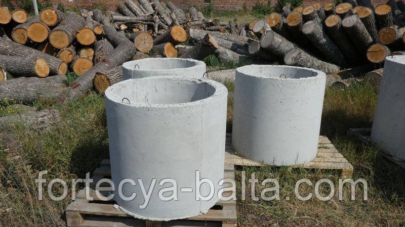 Коло колодязний внутрішній д. 80 см зовнішній д. 110 см висота 90 см