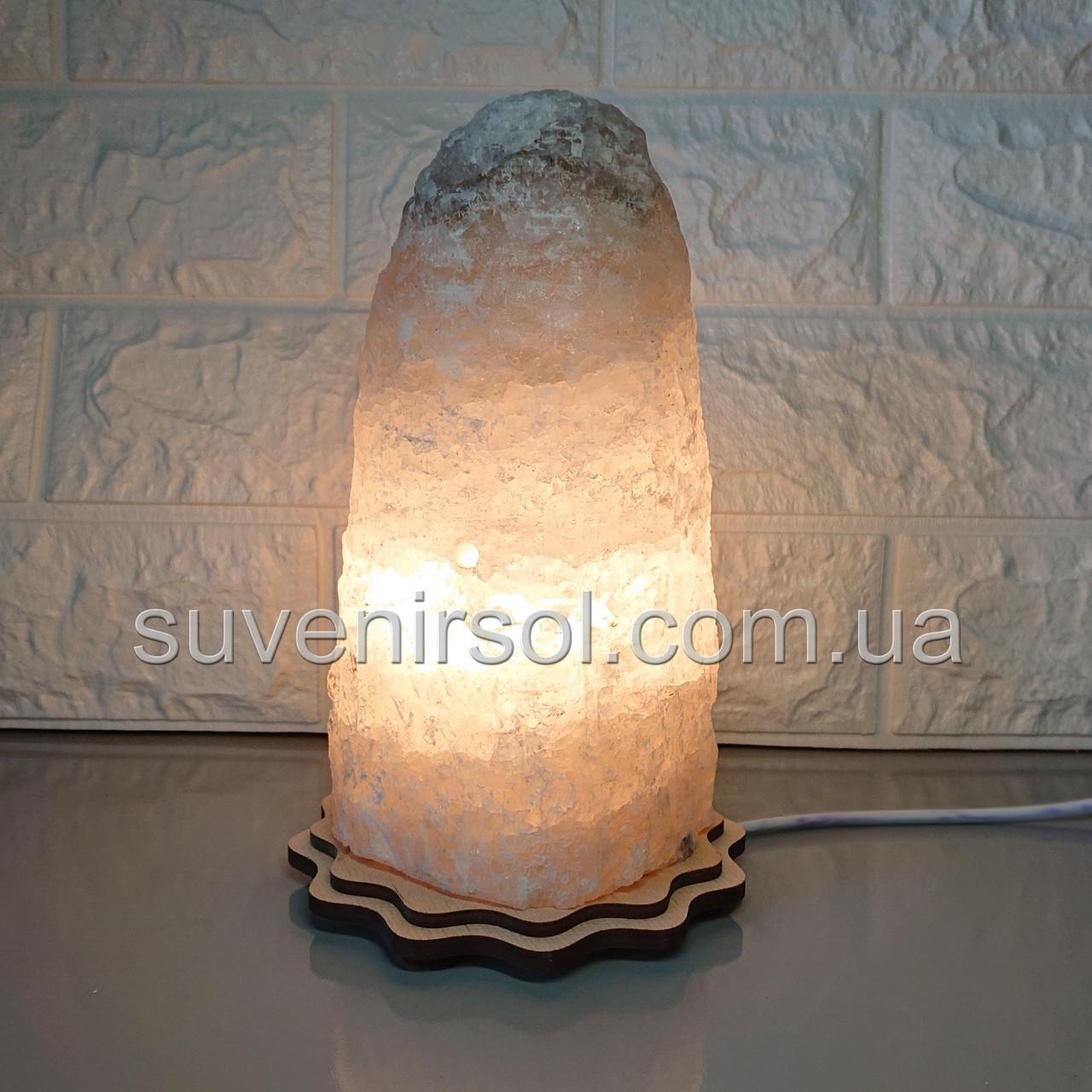 Соляний світильник Скеля велика