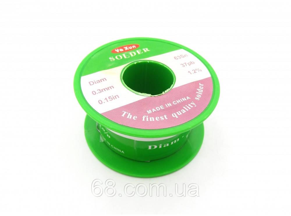 Припой 35 грамм 0.3 мм Yaxun для пайки мобильных телефонов и радиотехники