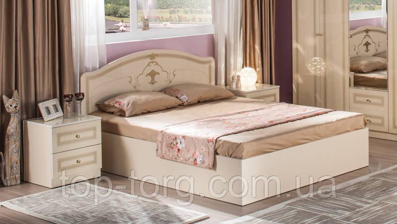 Ліжко Стелла Крем 1,6 (Стэлла) 1600х2000