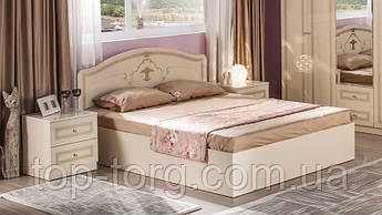 Кровать Стелла 1,6 (Стэлла) 1600х2000 Крем