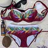 Стильный модный раздельный женский купальник 48/56, фото 2