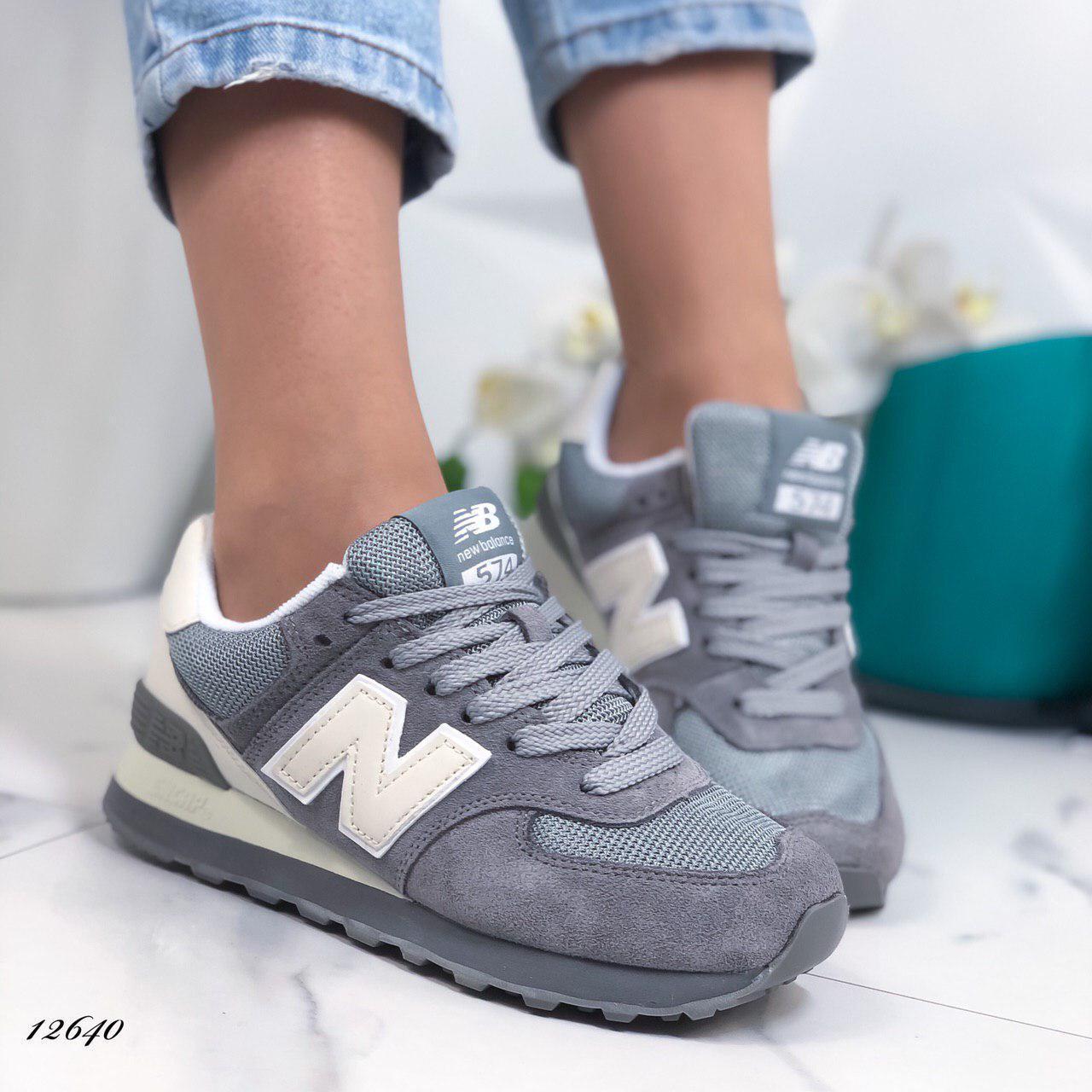 Женские кроссовки N_B из натуральной замши, 41 размер