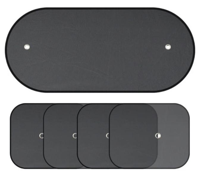 Автомобильные солнцезащитные шторки набор Sitaile - 5 шт