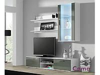 Вітальня SOHO 5 білий/сірий (модульні меблі) (Cama)