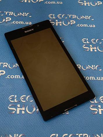 Модуль дисплей сенсор Sony c2305 оригінал б.у, фото 2