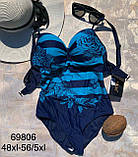Слитный женский купальник  48xl-5 5xl, фото 3