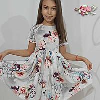 Красивое весеннее платье для девочки