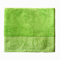 Банное махровое полотенце LANCOME 100 х 150см салатовое ОРИГИНАЛ