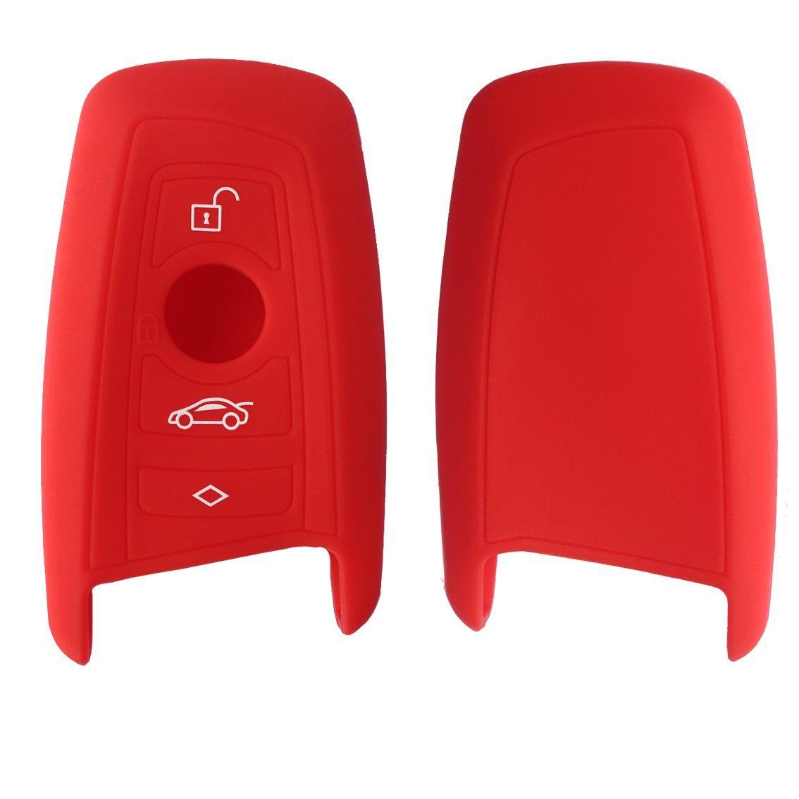 Силиконовый чехол New Generation для ключа BMW Красный (0000404)