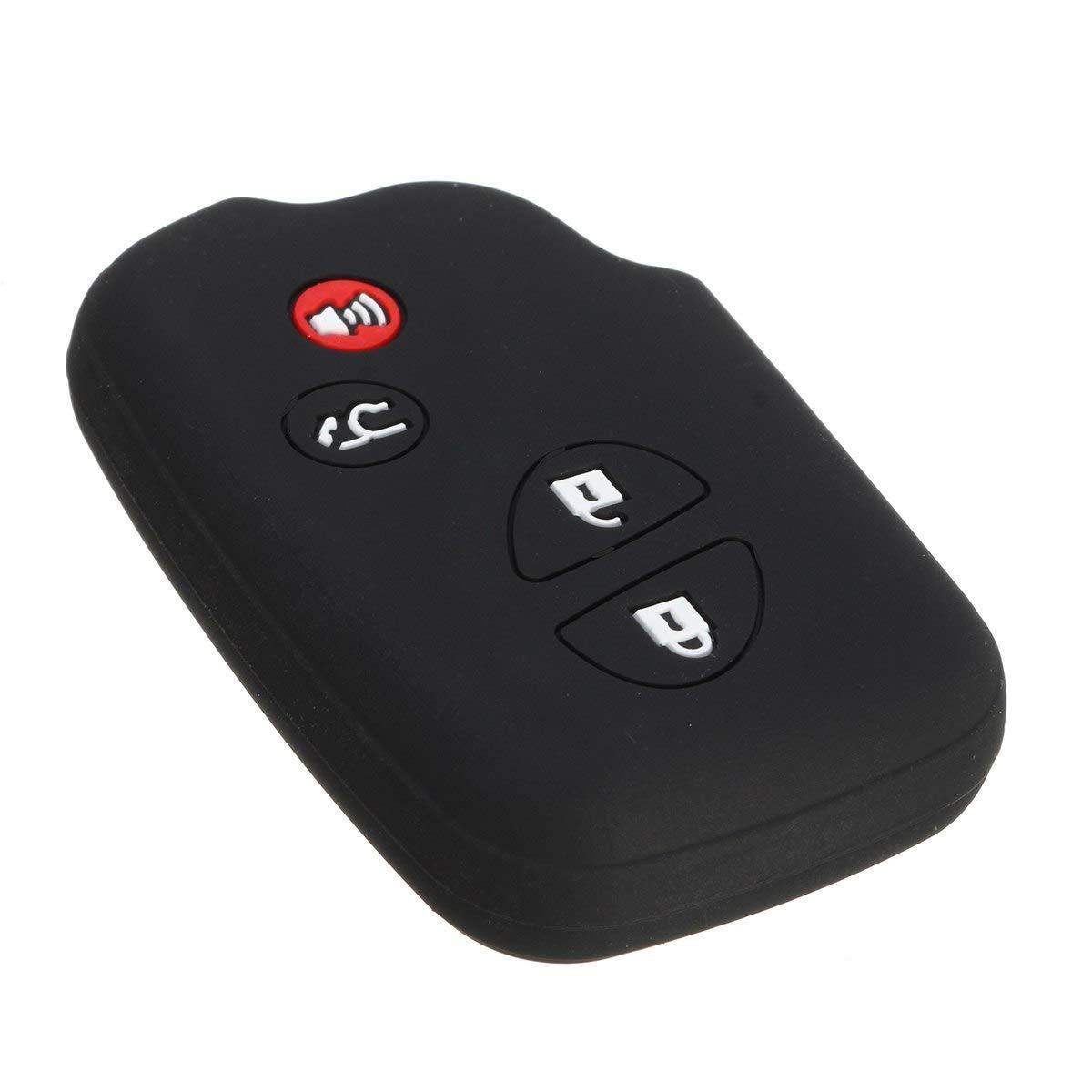 Силиконовый чехол New Generation для ключа Lexus Черный (0000012)