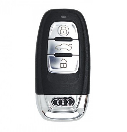 Силиконовый чехол New Generation для ключа Audi Черный (0000054)