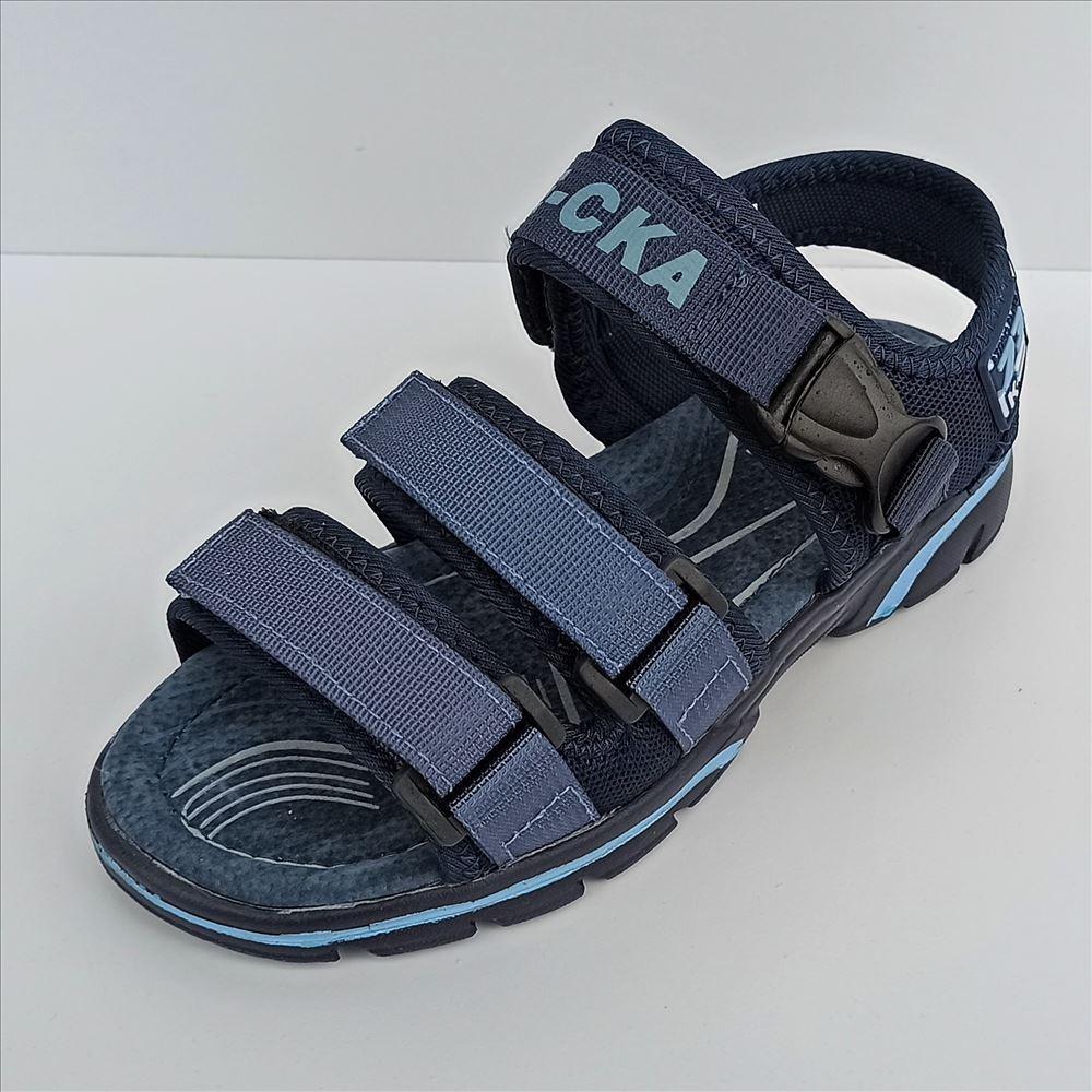 Темно-сині спортивні босоніжки Казка розміри: 32-36